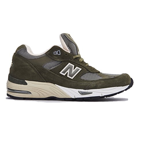 SNEAKER NB 991 MADE IN ENGLAND IN PELLE E MESH