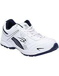 CF_Better Deals Mens Synthetic Mesh White Navy Coloured Sports Shoe| Running Shoes| Pro Running Shoes| Sprint...