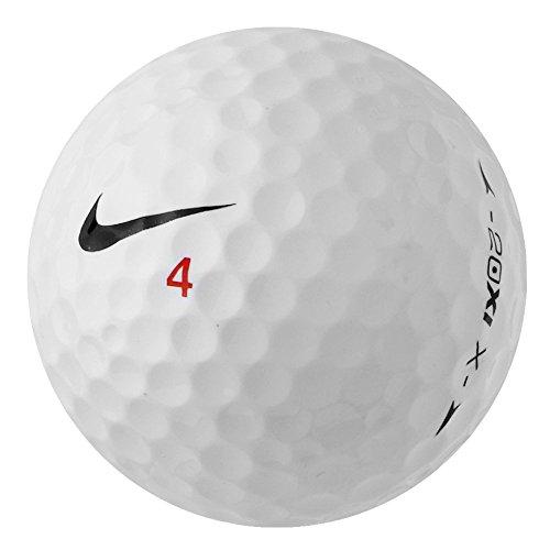 Golfbälle 20xi Nike (PearlGolf 25 Nike 20XI-X - AAA - weiß - Lakeballs - gebrauchte Golfbälle)