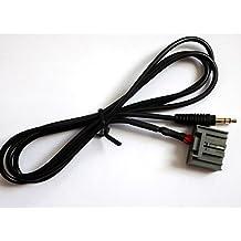 YihaoEL - Cable de audio con jack de 3,5 mm y adaptador para Honda Civic 2006–2013 y CRV 2008–2013