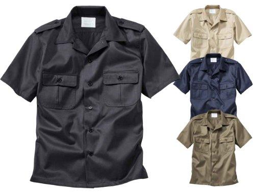 Surplus US Hemd 1/2 halbarm, schwarz, Größe XXL