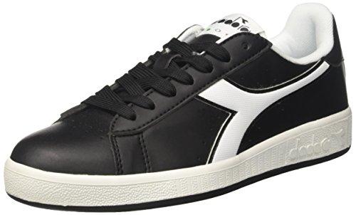 Diadora Game P, Sneaker Basses Mixte Adulte, Blanc, 38 EU Noir