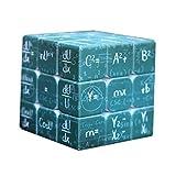 H-O Fórmula matemática Cubo 3x3x3 Suave Velocidad Práctico Rompecabezas Giratorio Herramienta de Aprendizaje Herramienta de Aprendizaje Herramienta educativa,Green