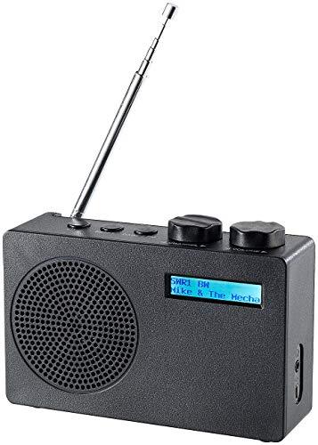VR-Radio Digitalradios: Mobiles DAB+/FM-Radio DOR-100.rx mit RDS-Funktion (Mobile DAB FM Radios)