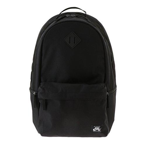 White Nike Sb (Nike SB Icon Rucksack, Black/Black/White, One Size)