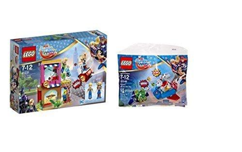Preisvergleich Produktbild LEGO DC Super Hero Girls Set - 41231 Harley Quinn eilt zu Hilfe und 30546 Sackerl Krypto saves the day