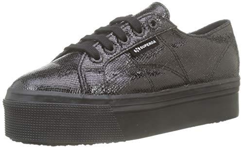 Superga 2790-syntadderw, scarpe sportive donna, nero (black 999), 41 eu