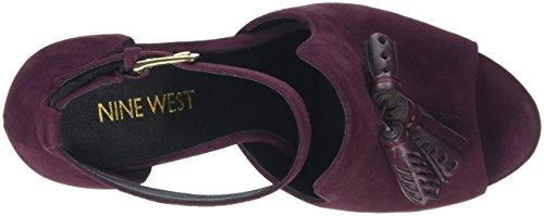 Nine West Damen Bevy Pumps Red (Chianti)