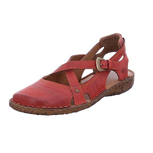 Josef Seibel Damen Rosalie 13 Geschlossene Sandalen, Rot (Hibiscus), 42 EU (Jeans Damen 13 Größe)