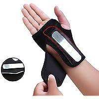 Xixik Handgelenkbandage, Handbandage Rechts Handgelenk Schienen Bandage Handgelenkstütze Handgelenkschoner für Karpaltunnelsyndrom, Sport, Ausbildung, Gewichtheben