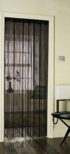 String Curtain - Cortina puerta cuerdas borlas, color