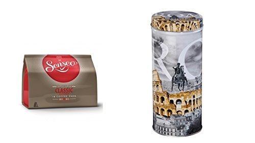 Senseo - Classic Kaffeepads - 16.St/111g Xavax Paddose 'City' Rom