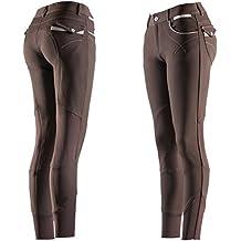 EQUI-THÈME Culotte Equitation - Pantalon Femme Léa 8e92f8eaccf