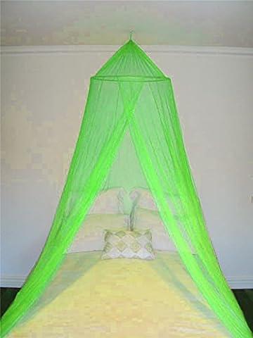 A-Express vert entrée unique Moustiquaire ciel de lit baldaquin 10 x 2.5 mètre