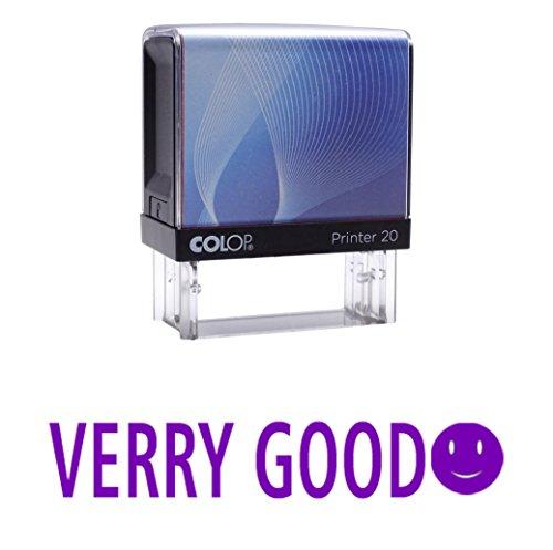 VERY GOODSelbstfärber Stempel Individuelle Colop Büro Stationär P20 Mini Stamper (Farbwerk Selbst Für Lehrer Stempel)