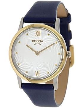 Boccia Damen-Armbanduhr 3265-02