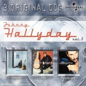 Coffret 3 CD : Johnny Hallyday Vol. 5 : Sang pour sang / Lorada / Insolitude