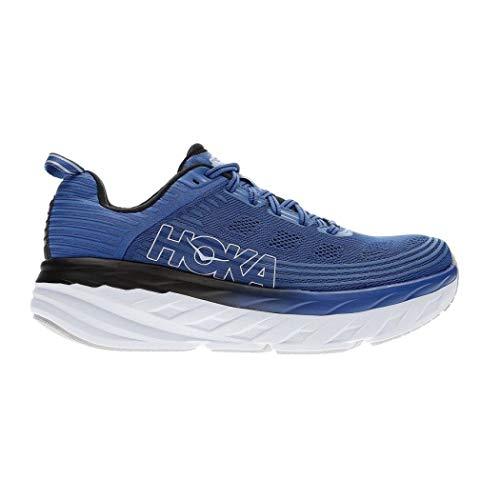 Hoka BONDI 6, Zapatillas de Running por Hombre, Azul (Galaxy Blue/Anthracite -...