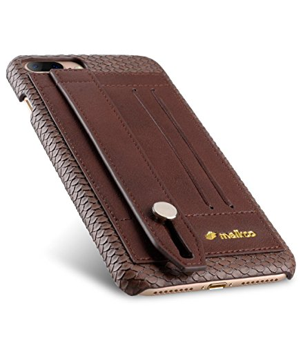 Apple Iphone 7 Melkco Elite-Serie Premium Leder-Snap zurück Tasche Tasche mit Premium-Leder Handgefertigte gute Schutz, Premium Feel-Tan chocolate 1