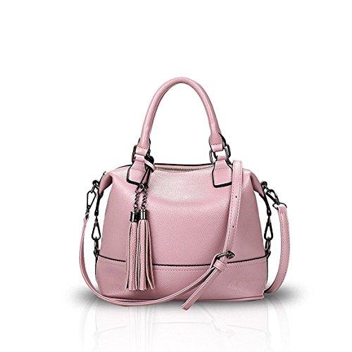 Bilis, Borsa a mano donna, Black (nero) - Bilis-648 Light Pink