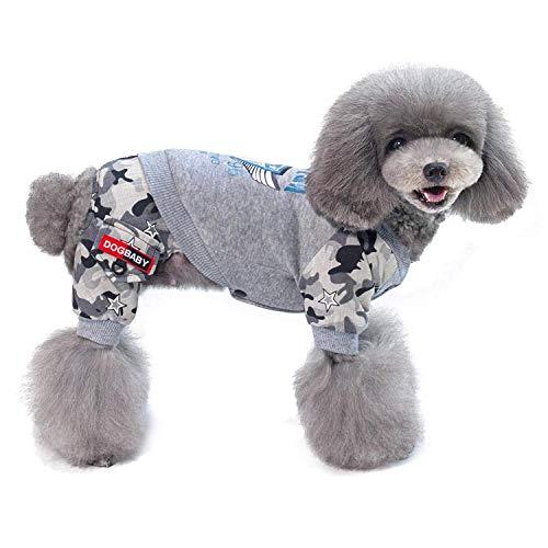 Hundebekleidung, Corgi Teddy Imitation Flight Suit Haustierbekleidung Hundekleidung Herbst und Winter Haustier Mantel SL-025 (Farbe: SCHWARZ, Größe: L),a,XL