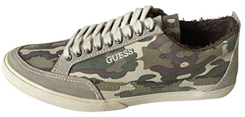 Guess Herren Sneaker, Camouflage Multi-Colour Derby - Größe: 40