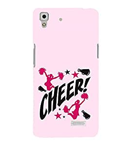 Vizagbeats Cheer Leaders Back Case Cover for Oppo R7