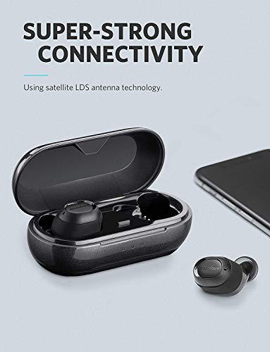 Soundcore Liberty Lite Bluetooth Kopfhörer True Wireless TWS in ear Kopfhörer von Anker, Kabellose Kopfhörer mit 12 Stunden Akkulaufzeit, Verbesserter Sound, Mikrofon und Bluetooth 5.0 - 5