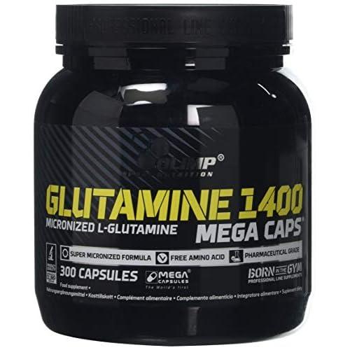 41ZVPopE0mL. SS500  - Olimp Sport Nutrition L-Glutamin Mega Caps-300Caps