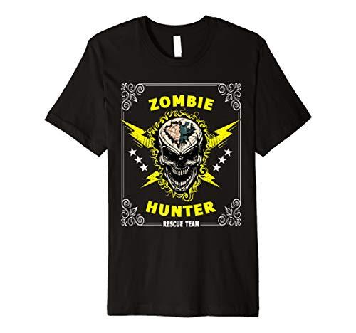 Zombie-Jäger-Kostüm-T-Shirt Rettungs-Team