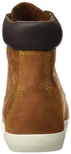 Timberland Flannery 6insaddle Nubuck, Bottes Classiques Femme, Marron, Various Marron (Saddle Nubuck)