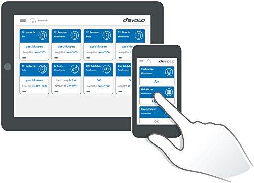 devolo Home Control Zentrale (Smart Home Steuereinheit, Z-Wave Hausautomation, intelligente Haussteuerung per iOS/Android App, Smarthome zum Selbermachen) weiß - 4