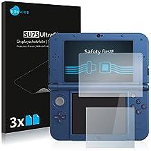 Protector Pantalla Nintendo New 3DS XL Pelicula Protectora [6 Unidades] Screen Protector