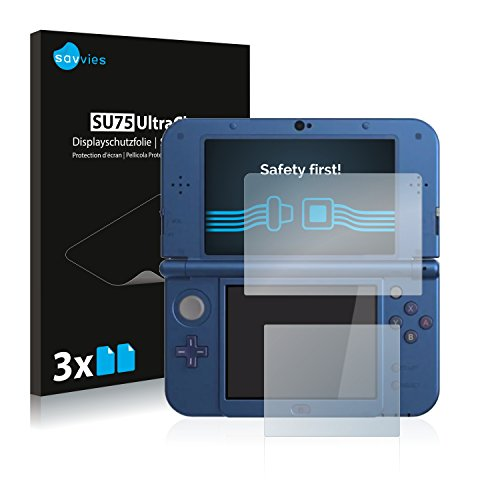 Nintendo New 3DS XL Schutzfolie [6er Pack] - kristallklare Displayschutzfolie Folie Displayfolie