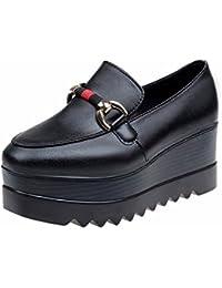 YUCH Frauen Schuhe Pisten mit Dicken Boden Wasserdichte und Atmungsaktive Schuhe Faul
