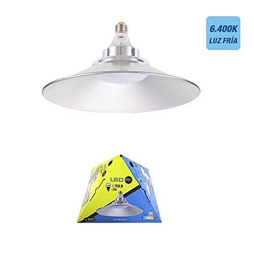 20w lumière du luminaire à LED de l'ampoule 1700 E27 lumière froide 6400K 25cm de diamètre EDM 98922