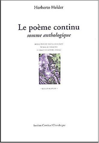 Le Poème continu par Herberto Helder