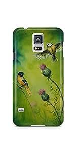 Casenation Flying Bird Samsung Galaxy S5 Matte Case