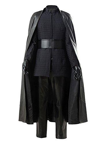 Star Wars 8 The Last Jedi Kylo Ren Outfit Ver.2 Cosplay Kostüm Herren ()