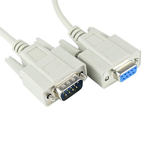 Cablematic 15m serielles Kabel (DB9-M/H) - Db9-verbindung