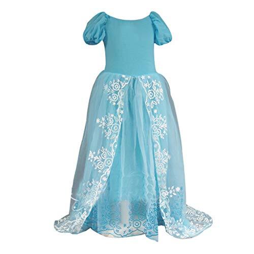 BURFLY Babyfliegenhülsenblumenmädchen, das Prinzessinkleidblumenmädchenkleid Smoking Rollenspielkleid-Feiertagskleid ()