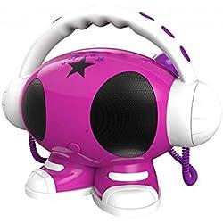 Reproductor Mp3 y Karaoke con 2 micrófonos