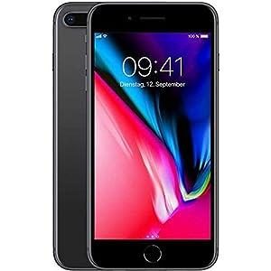 Apple iPhone 8 Plus 64 GB UK SIM-Free Smartphone - Space Grey (Certified Refurbished)