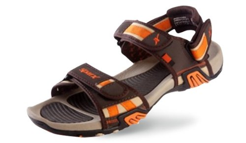 Sparx Men Casual Wear Brown and Biege Coloured Floaters Size 8 UK - SS428BrownBiege-8