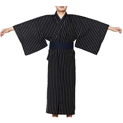 e525b124b Fancy Pumpkin Jinbei Men's Yukata Kimono Japanese Robe Pajamas【A1/Size ...