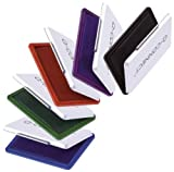 Stempelkissen Gr. 2 farblos CONNECT KF25214 7x11cm Metalletui, Nutzmaß 7x11cm, ungetränkt, leer, In Kartonverpackung mit Hängelasc