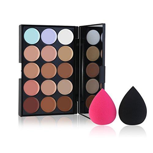 RUIMIO Contouring Palette und Cream Contour kit mit Makeup Blender - 15 Farbtöne