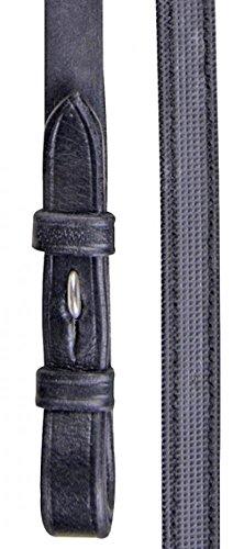 HKM 6216 Zügel aus englischem Leder mit Anti Rutsch Auflage, M