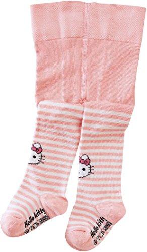 Hello Kitty Hose (Golden Lutz Hello Kitty Baby Strumpfhose (rosa weiß gestreift, Gr. 86/92))