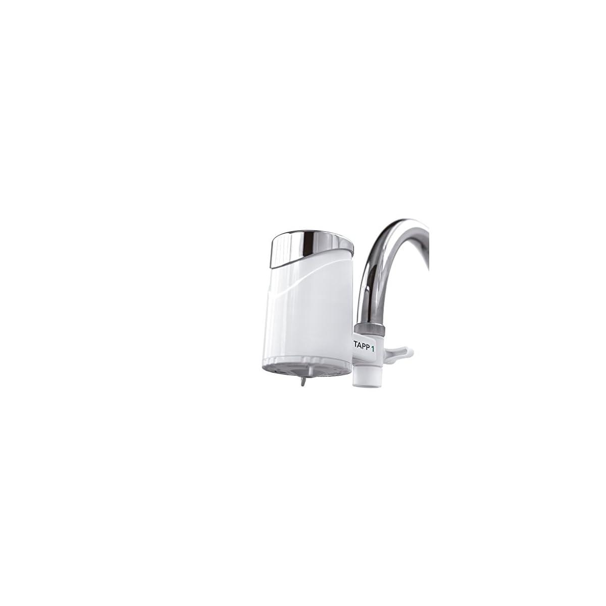 41ZVa ZGsCL. SS1200  - TAPP Water TAPP 1 - Filtro de Agua para Grifo (Elimina Cloro, Microplásticos, Metales Pesados y más)